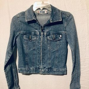 Denim Coat by Plugg size S